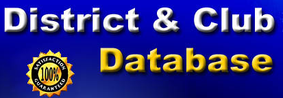 DaCDb   District and Club database