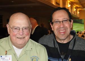 Roger Allington and Mitch Freedman