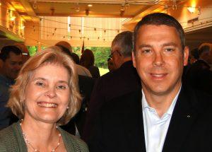 Francine Weaver and Justin von Gortier