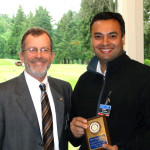 Pres. Chris and Girish Bhatia