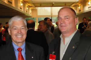 Chuck Kimbrough and Jim Carney
