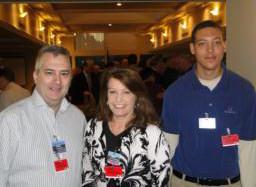 Dustin Walling, Linda DeStephano, and Michael