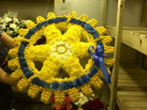 Rotary Wheel of Flowers